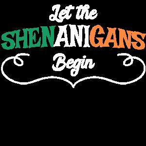 Let The Shenanigans Begin St. Patricks Day Bier