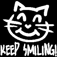 Cat - keep smiling!!