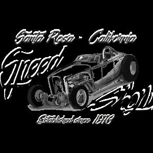 Santa Rosa Speed Shop black white