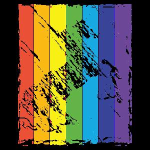 Regenbogen Einhorn Fabel