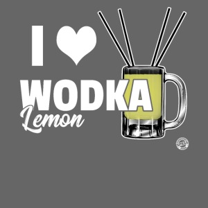 I LOVE WODKA LEMON Shirt - Vodka Shirt