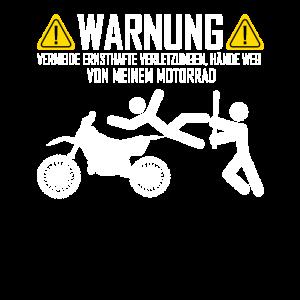 Lustiges Motorrad Fahrer T Shirt Geschenk Idee
