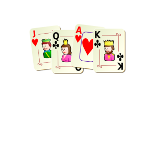 Deal With It Funny Playing Card Pun