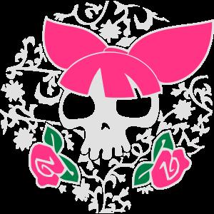 Vektor-Skulls: im Rockabilly-Stil