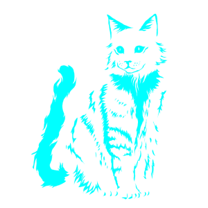 Katzen-Entwurfs-Katzenhaus-Miezekatze Pussy Mouser Geschenk