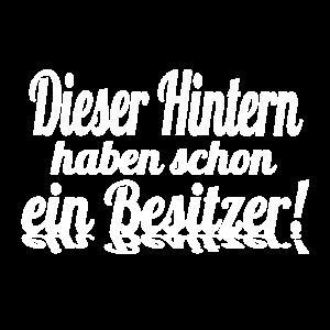 Hintern Weiss