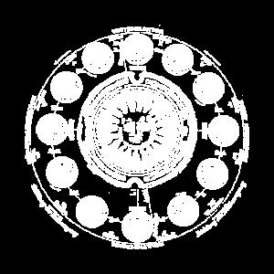 Astrologie Sonne Jahreszeiten Sternzeichen Weiß