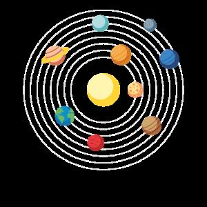 Sonnensystem, Planeten, Weltall