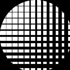 Kreis bestehend aus vielen Quadraten