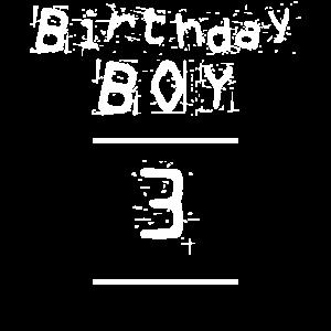 Geburtstagskind Junge 3 Jahre alt Geburtstag Shirt