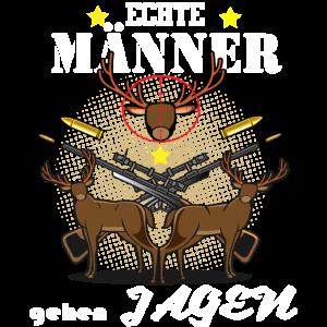 Echte Männer gehen Jagen | Hirschjagd | Jäger