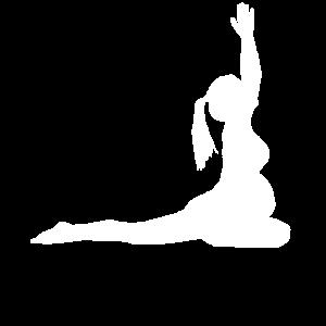 Schwanger Yoga Babybauch