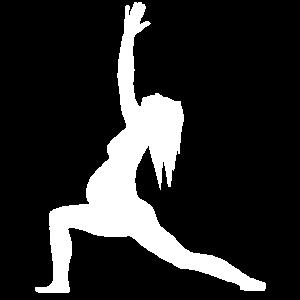Yoga Schwanger Krieger