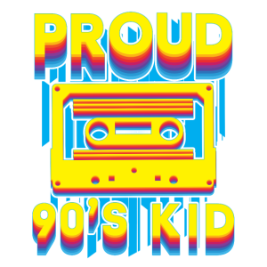 Kassette 90er Jahre Retro Geschenk