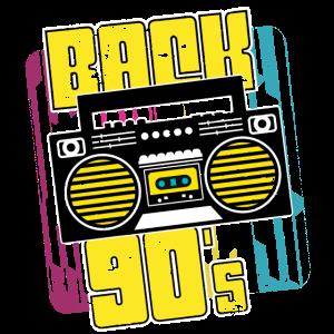 Boombox Ghettoblaster 90er Geschenk