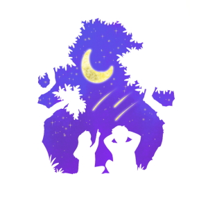 Liebe Nacht Himmel Sternenhimmel Paar Geschenk
