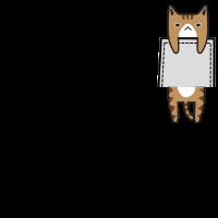 Pocket Cat süße Katze Katzenmensch Geschenk