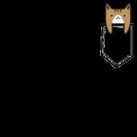 Pocket Cat süße Katze Geschenkidee