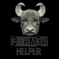 Bauer Helfer Bauernhof