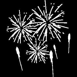 Feuerwerk Pyro Silvester Rakete