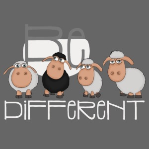 Coole Be different Schafe Gang - Gute Laune Schaf