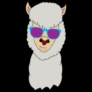 lama Lama Alpaka Sonnenbrille