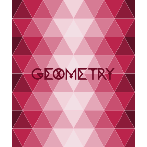 GEOMETRY - cooles Geometrie Dreieck Design