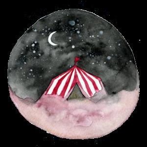 circus aquarelle
