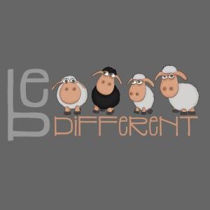 Kleine Be different Schafe - Einzigartig & anders