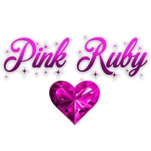 Pink Ruby heart