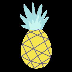 Ananas-Grafik