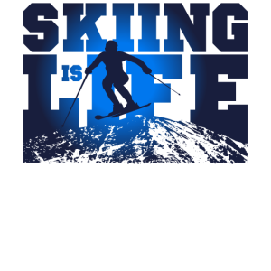 Ski fahren Winter