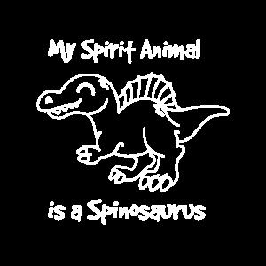 Mein Spirit Tier ist ein Spinosaurus Dinosaurier