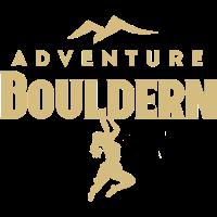 Adventure Bouldern Frauendesign gold