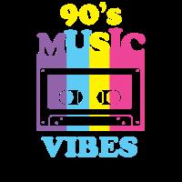 90's Music Vibes Shirt 90er Jahre Party Shirt