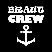 Braut Crew - Team Braut Shirt - Motiv Anker