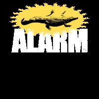 Echsen Alarm