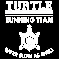 Turtle Laufen Joggen Marathon lustig