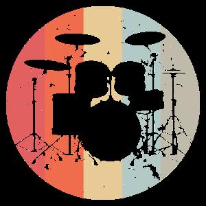 Schlagzeug, Trommel, Musik, Retro, Vintage