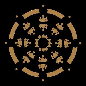 Dharma Rad, wheel, Buddhismus, Chakra, Lehre