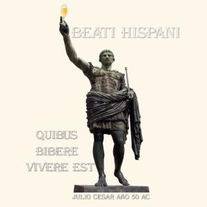 Dichosos españoles para quienes beber es vivir.