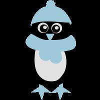 Pinguin - Winter - Weihnachten