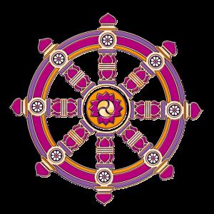 Dharma Rad, Chakra, Buddhismus, Glückssymbol, Yoga