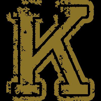 K - Buchstabe - K - Buchstabe - K