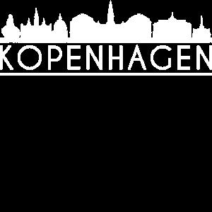 Kopenhagen Kulisse Skyline Dänemark Reise Cooles