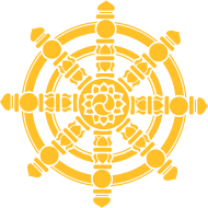 Motiv ~ Dharma Rad, Glückssymbol, Buddhismus, Chakra