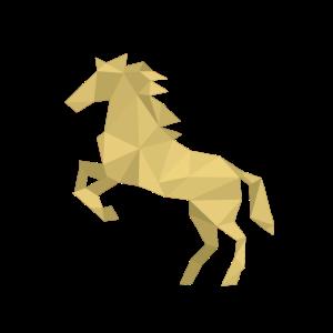 Gold - Pferd