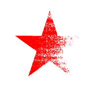 roter Stern used look Kommunismus Sowjetunion