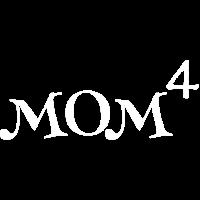 Mom of 4 Kids, Geschenk für Muttertag, Geburtstag