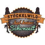 Stöckelwild Retro Badge